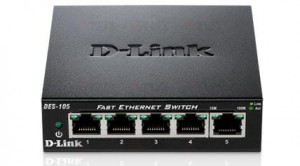D-Link 5-port switch 10/100 Metal Housing