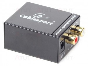 Gembird Adapter Digital Audio TOSLINK -> Analog RCA