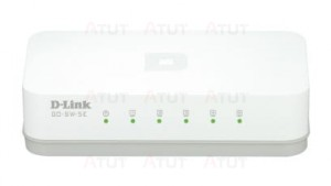 D-Link 5-port switch 5xFE